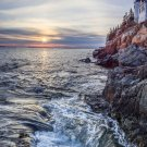 Acadia National Park Bass Harbor Head 8X10 Photograph