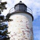 Acadia National Park Lighthouse on Baker Island 12x16 Canvas