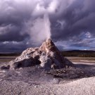 Yellowstone National Park White Dome Geyser 8X10 Photograph