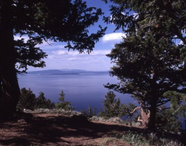 Yellowstone National Park Yellowstone Lake 11x14 Photograph