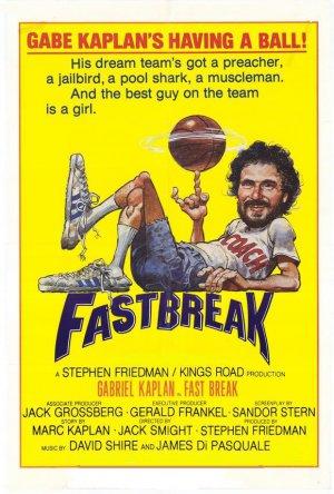 Fast Break DVD 1979 Gabe Kaplan Basketball Comedy