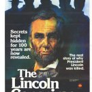 The Lincoln Conspiracy 1977 DVD