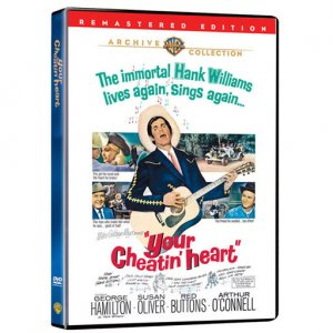Your Cheatin' Heart 1964 Remastered DVD George Hamilton