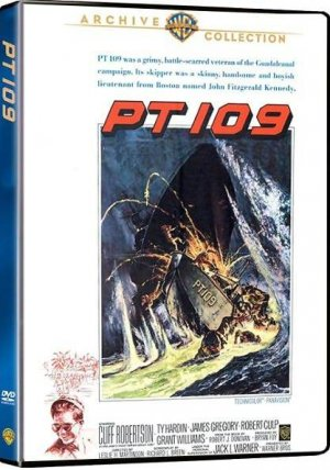 PT 109 DVD 1963 Cliff Robertson as John F Kennedy - Ty Hardin - Robert Culp