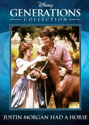 Justin Morgan Had a Horse DVD Disney 1972 Don Murray