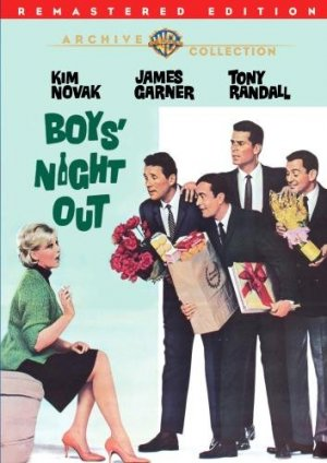 Boy's Night Out DVD 1972 James Garner Kim Novak