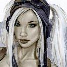 KATO AVIATOR V2 BW#943 SEXY FANTASY  ORIGINAL PINUP GIRL