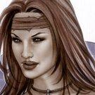 Hot Cavegirl Bw#906 - Fantasy Sexy Pinup Girl Print