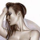 Sabrina Nichole - Playboy Bw#915 - Sexy Pinup Girl Print