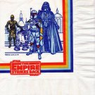 Star Wars ESB 1980 One Single Birthday Party Napkin UNUSED Darth Vader Boba Fett