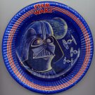 "Star Wars 1977 Darth Vader 7"" One Single Birthday Party Plate Death Star UNUSED"