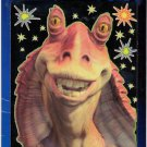 Star Wars Ep1 Glow in the Dark Scene Jar Jar Binks MIP