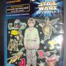 Star Wars Ep1 Glow in the Dark Scene Anakin MIP