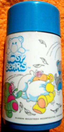 Nosy Bears Thermos Bottle 1988 Aladdin