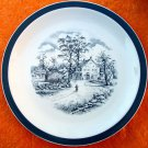 Staffordshire Home in the Country Alfred Meakin Plate