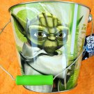 Star Wars Clone Wars Yoda Metal Bucket Pail NEW UNUSED