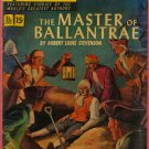 Classics Illustrated Comic Book #82 Master of Ballentrae 1st Print Golden Age April 1951