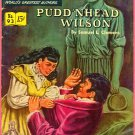 Classics Illustrated Comic Book #93 Puddnhead Wilson HRN 94 1st Print Golden Age March 1952