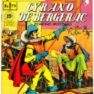 Classics Illustrated Comic Book #79 Cyrano 2nd Print HRN 85 Golden Age Jan 1951