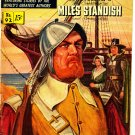 Classics Illustrated Comic Book #92 Miles Standish HRN 92 1st Print Golden Age Feb 1952