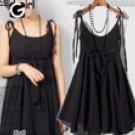Cute empire Dress BLACK