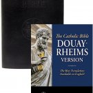 Douay-Rheims Bible (Black Genuine Leather)