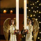 KNEELING ANGEL CANDLEHOLDERS/CANDLE HOLDERS~CHURCH,HOME ALTAR~CATHOLIC/CHRISTIAN