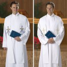 REVERSIBLE BAPTISMAL AND WEDDING STOLE EMBROIDERED~PASTOR~CLERGY~CATHOLIC PRIEST