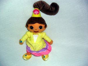 "13"" DORA EXPLORER�YELLOW PRINCESS DRESS PARTY ©2004 GUND© DOLL TOYS"
