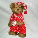 "12""Tender Hearted Collectibles™ Christmas Bear Toy Decoration"