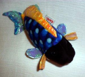 """6"""" LIL' KINZ BLUE TRIGGERFISH BY ©GANZ® Stuffed Toy Boy"""
