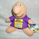"6"" ZIGGY® ©2010 BY TOM WILSON NANCO TOYS PLUSH STUFFED KIDS"
