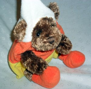 "8"" TEDDY BEAR ©2011 BY ANIMALADVENTURE � Toy Suffed Plush"