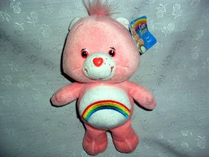 "CARE BEARS� 9"" ©2002 TCFC MANUFACTURED UNDER LICENSE BY PLAY ALONG"