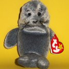 """1998 Ty© Collectible Plush Stuffed Toy 6"""" The Beanie Babies Collection® Slippery™"""