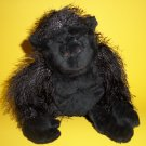 "9"" Ganz Webkinz Plush Toy Black Gorilla Animal"