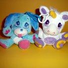 Wuggle Pet 2011 Plush Puppy Dog Unicorn Clip-On Toy Animal
