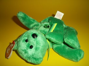 2002 Dublin 8 inches Suffed Plush  Beanie Babies Collection by Ty®