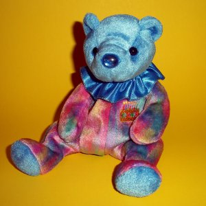 """2001 Plush Stuffed Toy   8"""" September� Beanie Babies Collection® Bears by Ty"""