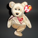"8"" 1999 Signature Bear Plush Stuffed  The Beanie Babies Collection ® by Ty No Stamp"