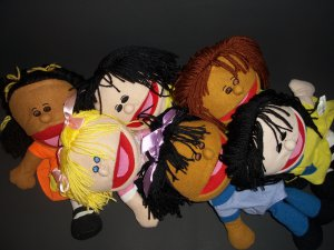 """14"""" Cloth Hand Puppets Oriental Trading Company"""