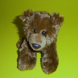 "Plush Stuffed Animal Puppy Brown Dog 5.5"" by © Aurora World Inc."