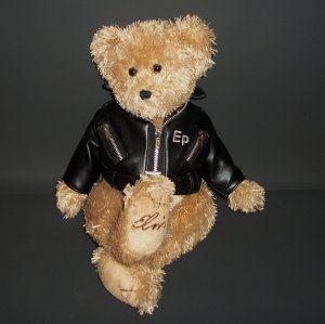 "15"" Elvis Presley's 2004 Teddy Bear by Graceland Plush Collectible"