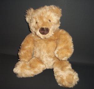 "Teddy Bear Gund Handmade at The Gund Factory Shop Plush Stuffed Animal Toy 17"""