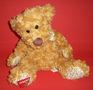 "Dakin Teddy Bear Plush Soft Toy Tan 12"" Exclusively for Big Lots Stores Animal"