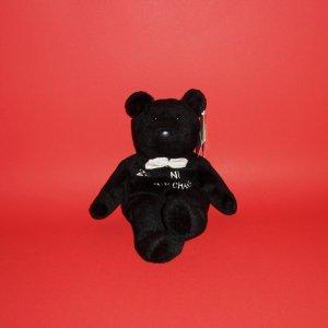 "9"" McGwire # 25 NL ""H.R.CHAMP"" Black Teddy Bear Salvino's Bammers 12/98 Fans Hobbies Plush"