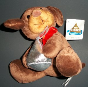 "6"" seated position The Hershey Company, Hershey's Kisses Puppy Dog by Galerie"