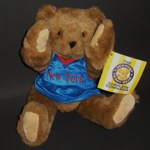 "New York #33 Collectibles 15"" Authentic Teddy Bear Vermont® Fans Hobbies Plush"