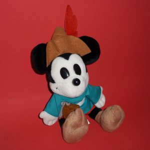 The Disney Store Mickey Mouse Plush Stuffed Collectible Toy 12""