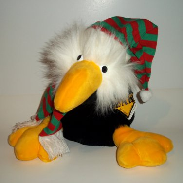"12"" Eagle VINTAGE Christmas Season  ZAK  by GANZ BROS ©1989 The Heritage Collection"